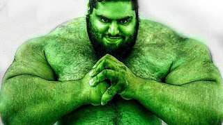 Facts of Iranian Hulk Sajjad Gharibi