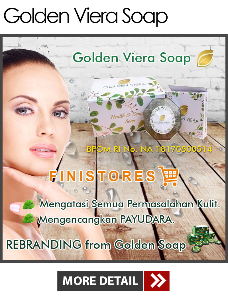 Jual Golden Viera Soap