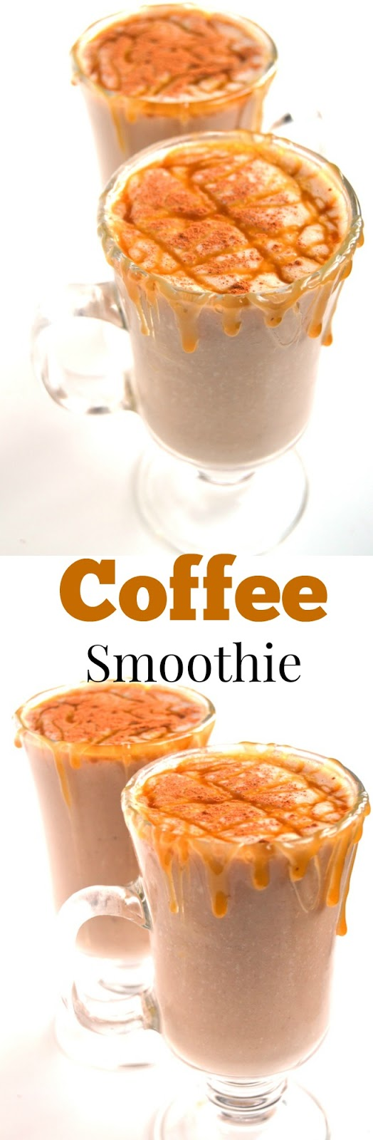 Coffee Smoothie is a 5-ingredient healthy smoothie that is ready in just 2 minutes and makes the perfect breakfast or snack! www.nutritionistreviews.com