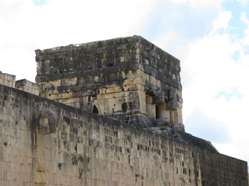 Great Ball Court Chichen Itza