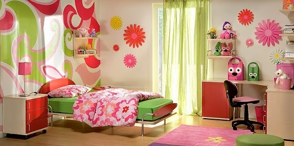 Dormitorios de colores para ni as dormitorios colores y for Decoracion de dormitorios infantiles de nina