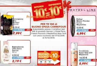 Logo Spendi & Riprendi Carrefour: spendi 10 e ricevi buono spesa da 10 euro