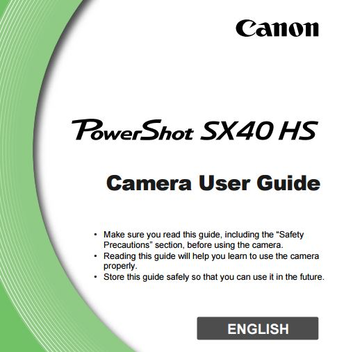 CANON POWERSHOT A IS USER MANUAL Pdf Download