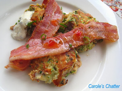Zucchini Tuna Fish Cakes by Carole's Chatter
