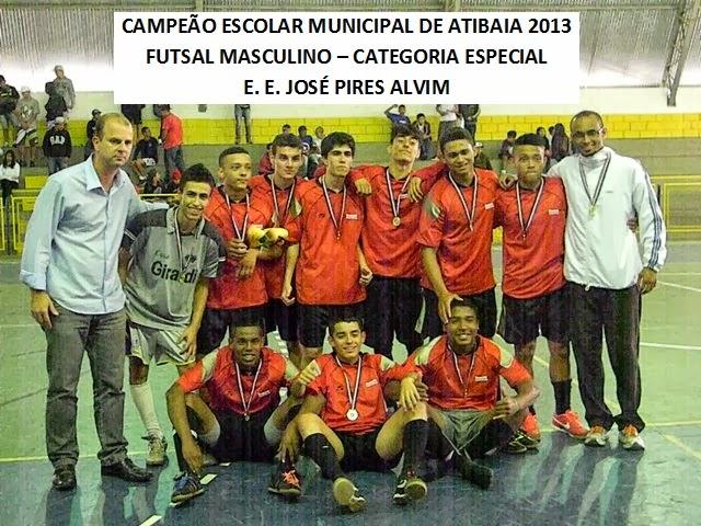 Prof Júnior Oliveira: Junior Oliveira: Futsal CAMPEÃO