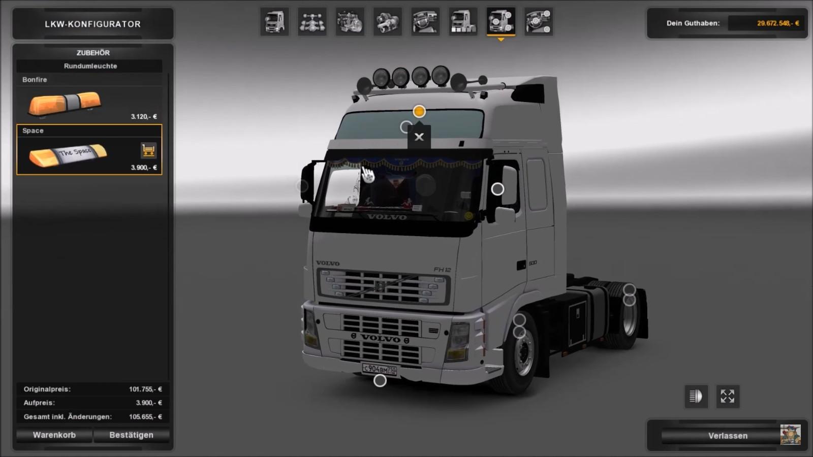 Truck - Volvo FH12 XL 500