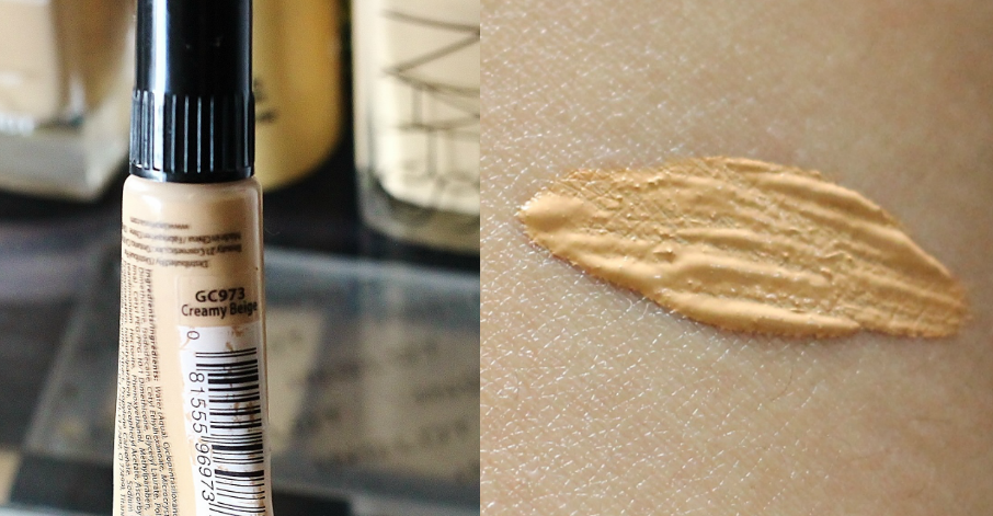 L.A Girl Pro. Conceal HD Concealer in Creamy Beige review and swatch