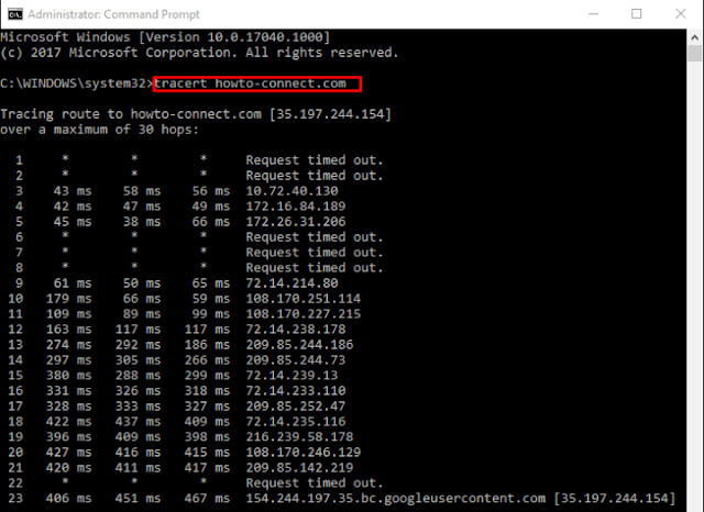 Ways to Use cmd Command Traceroute in Windows 10