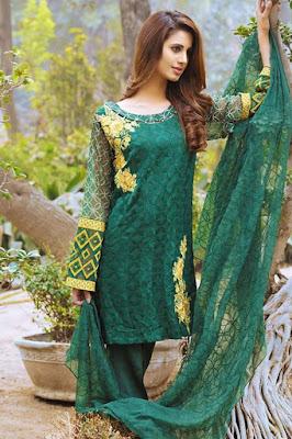 crinkle chiffon dresses pakistani
