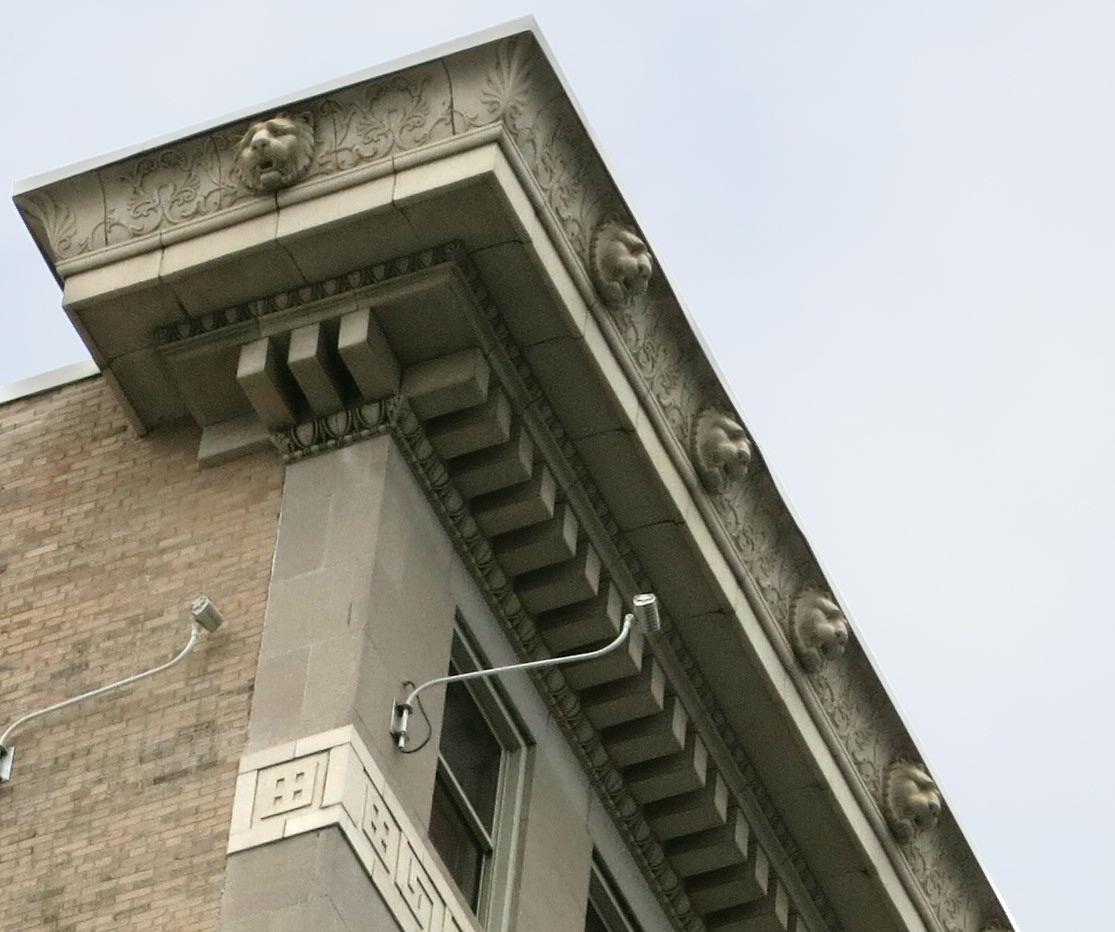 architecture tourist thirty nine lions on atlanta s glenn building