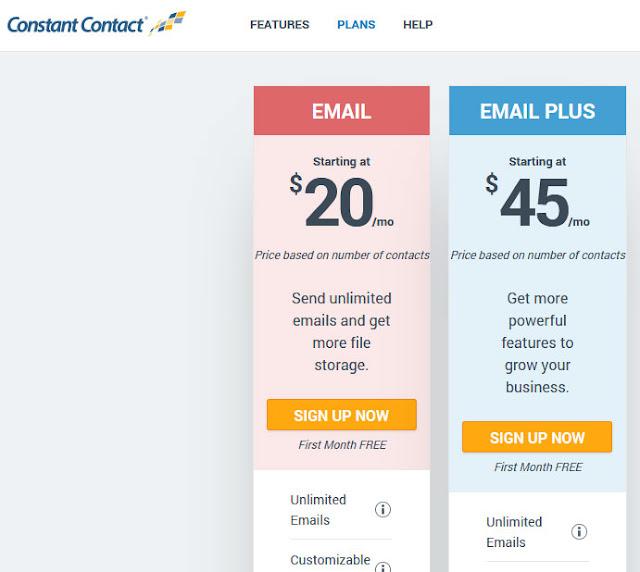 constantcontact: MailChimp Alternatives: eAskme