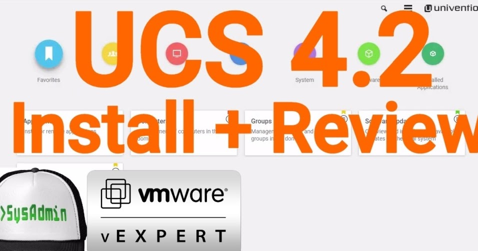 Univention Corporate Server (UCS) 4.2 Installation and Review on VMware Workstation