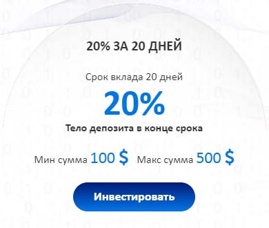 Инвестиционные планы FutureRich LTD 2