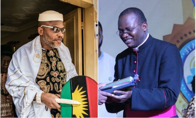 Catholic priest reveals why Nnamdi Kanu cannot lead Igbos