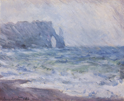 Image result for rainy weather paintings by monet