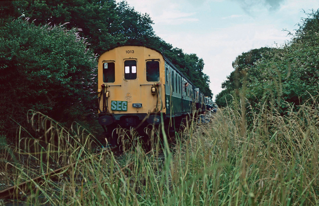 Railtour to Bedenham 1985