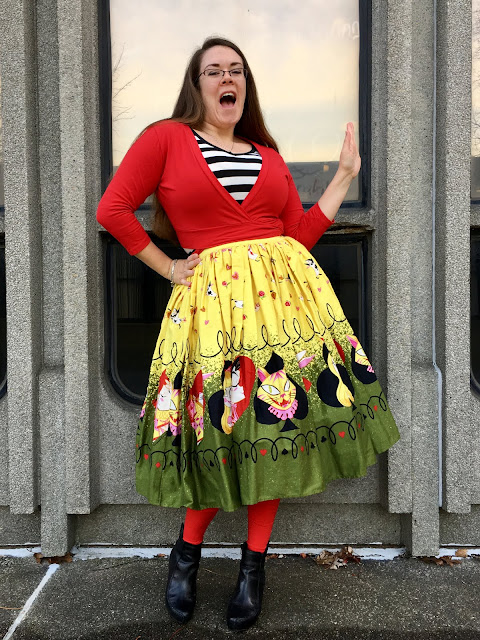 pug queen of hearts jenny skirt