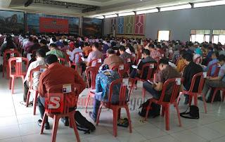 Ratusan Orang Ikuti Test Tulis Panwas Kecamatan, Ini Jumlahnya