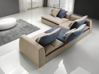 Arredo in divano modulare moderno sting for Divano con mobile incorporato