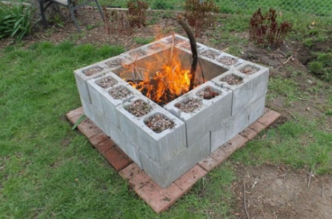 20 decoration ideas to make with concrete blocks 7