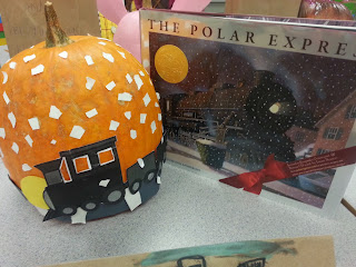 Pumpkin Book Reports- Polar Express