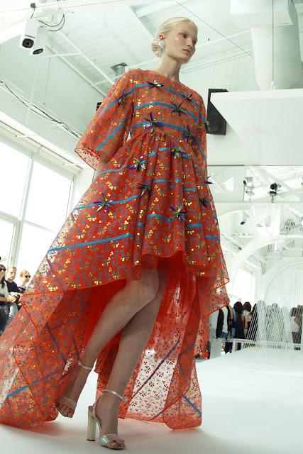New York Fashion Week Delpozo Spring 2017