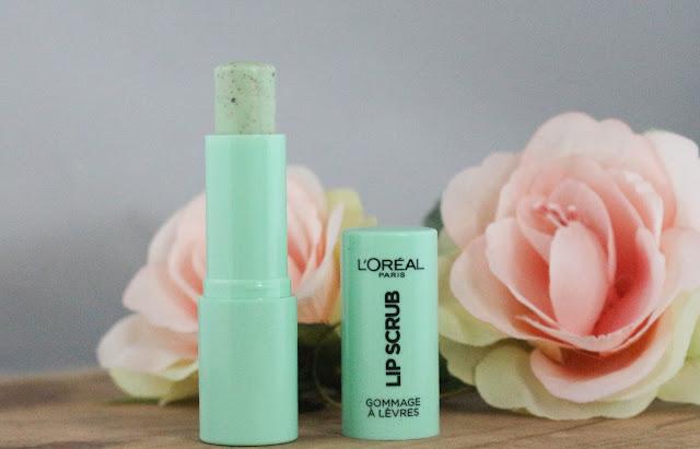 L'oréal Lip scrub / L'allié de mes lèvres en hiver