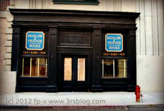 "Warner Bros. Studios ""New York"" back lot ""bookstore"" facade"