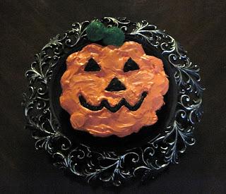 Pumpkin Cupcakes Cake for Halloween