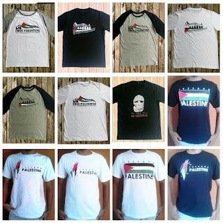 Supplier Kaos Palestina Online