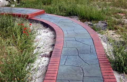 Декоративно печатный бетон бетон в мегионе купить