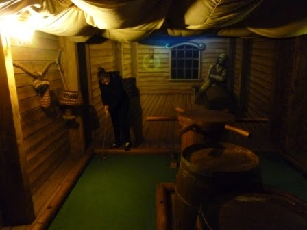 Mini-Golf in Whitby