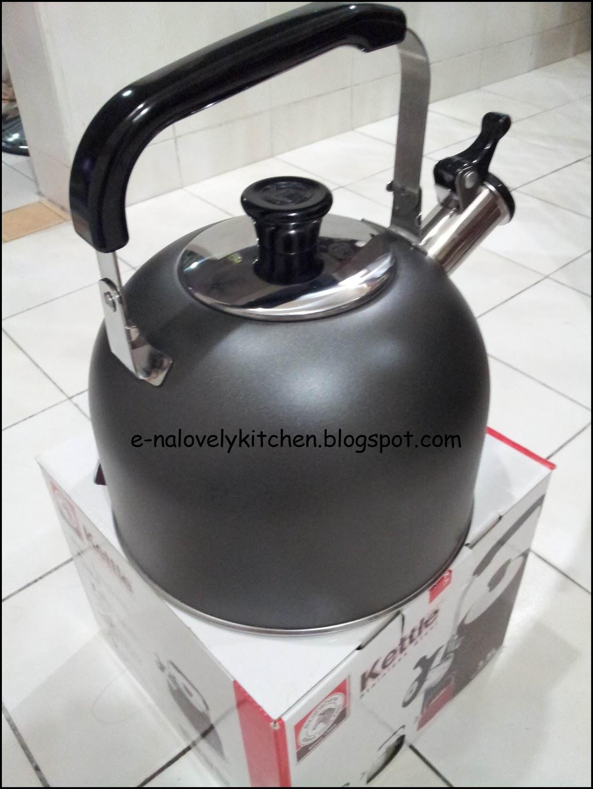 Elok Lagi A Bocor Di Bahagian Tepi Penyambung Antara Badan Dan Bawah Cerek Bila Masak Air Banyak Yang Keluar Atas Dapur