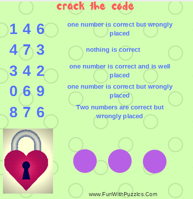 Crack the Code Brain Teaser