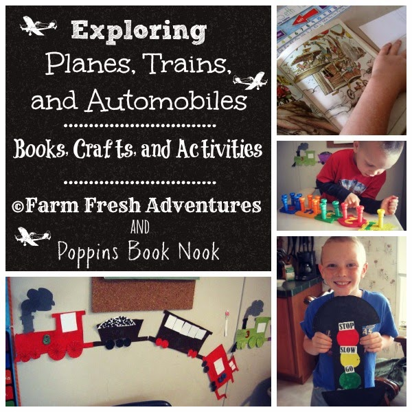 Poppins Book Nook Transportation Activities