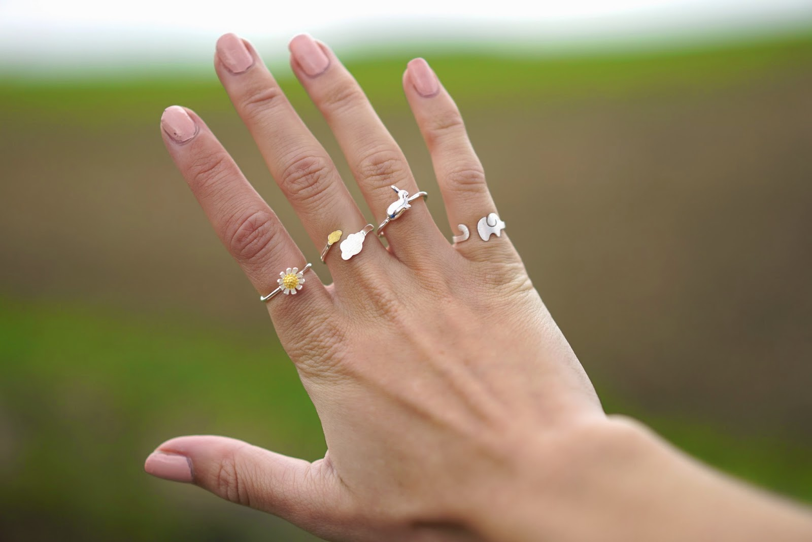 cute sterling silver rings