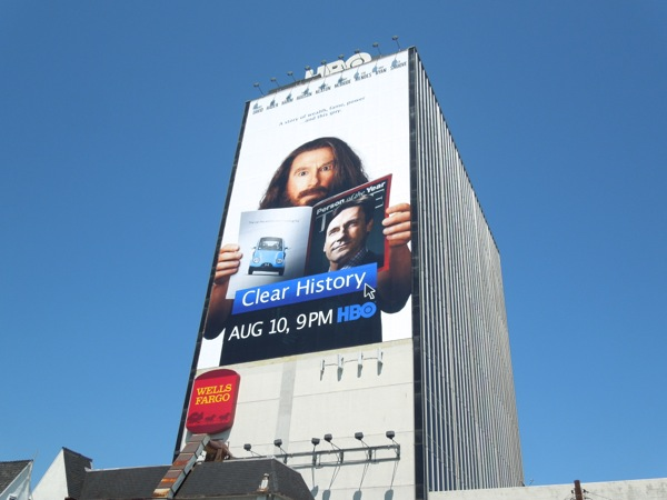 Giant Clear History HBO Films billboard