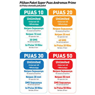 andromax prime pulsa