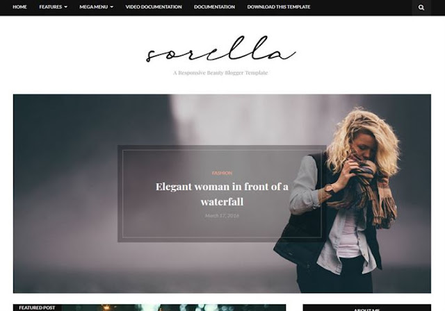 Sorella Beauty Blogger Theme