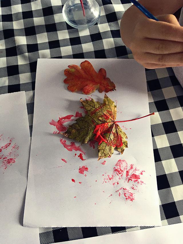 knutselen bladeren herfst