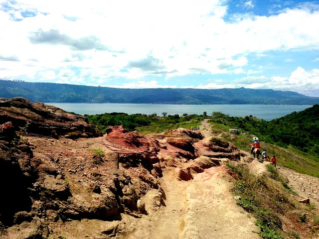 Near the Top of Taal