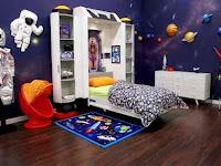 Tema Bajak Laut Pada Design Kamar tidur Anak Laki-Laki