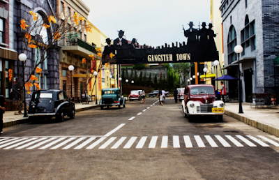 Gangster Town dan Broadway  Street