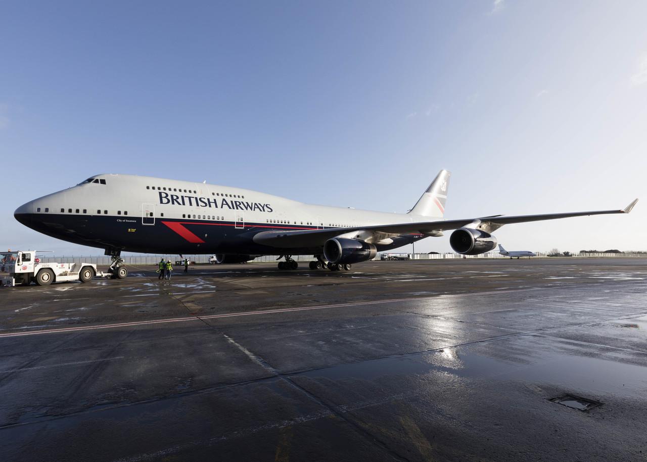 British Airways pinta o terceiro avião em comemoração de seu centenário | É MAIS QUE VOAR