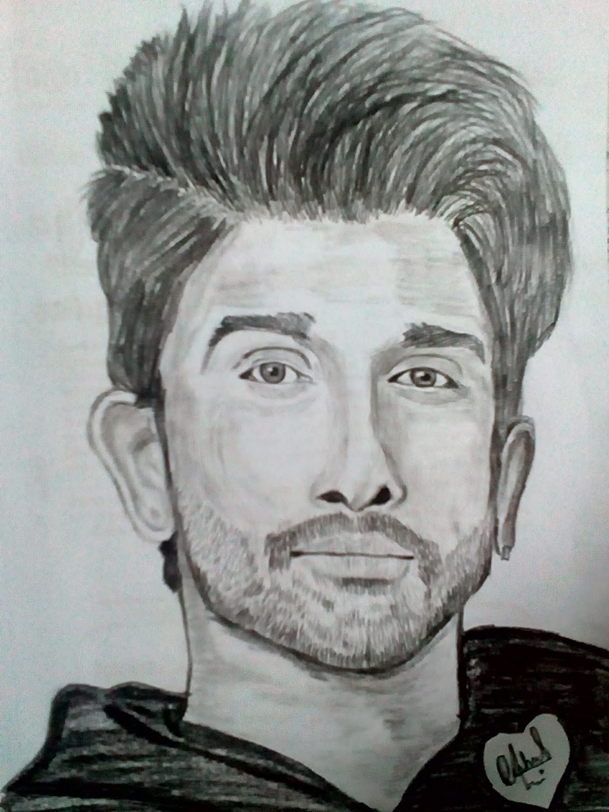 Pencil Drawing Of Allu Arjun