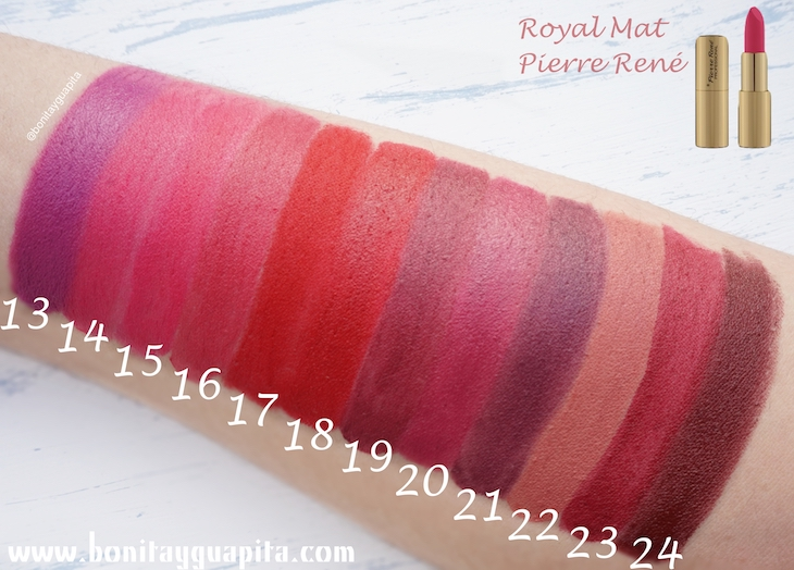 swatches Royal Mat de Pierre René