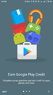 Google Opinion Rewards Aplikasi Menghasilkan uang di Android