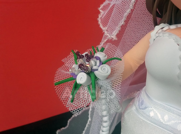 fofucha ramo novia