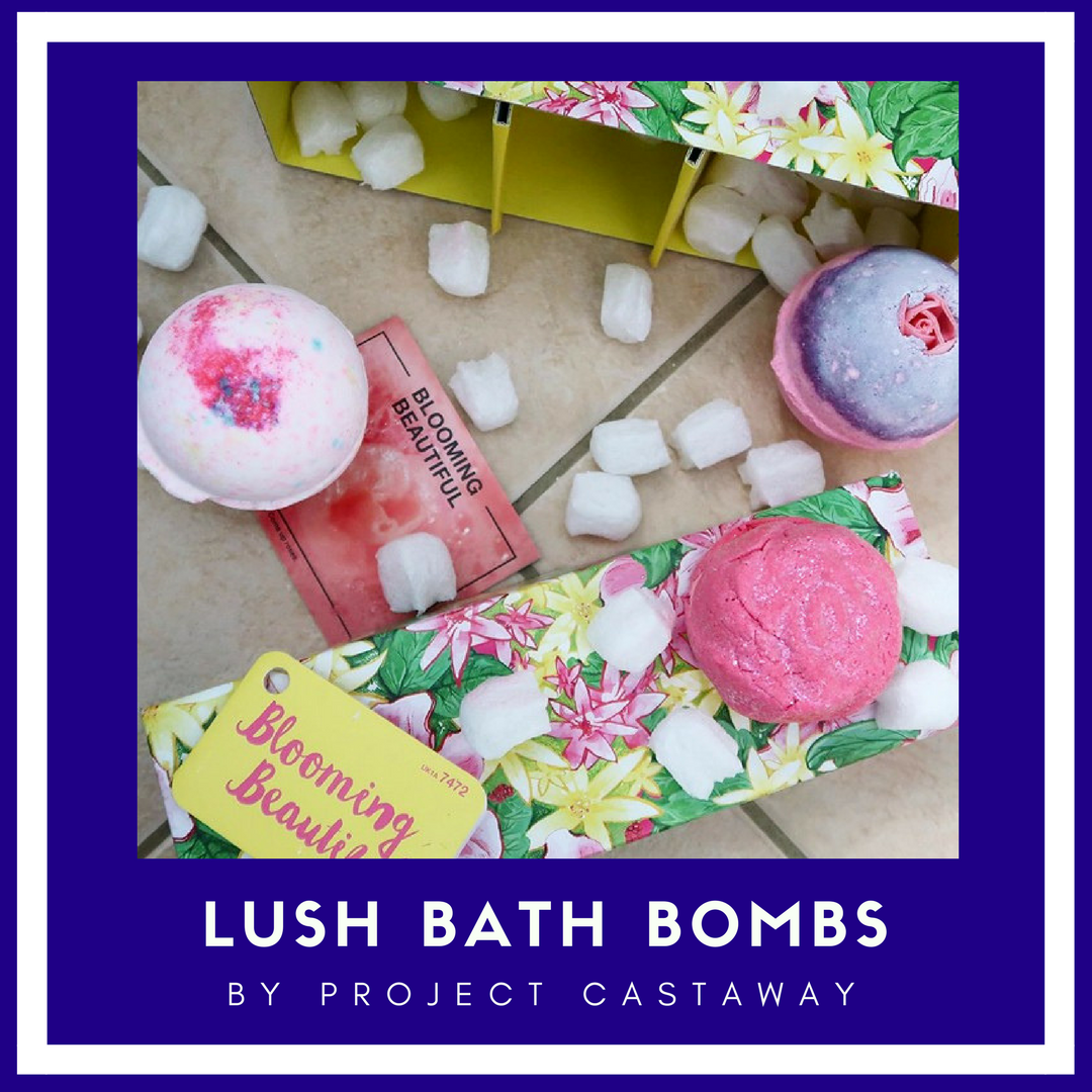 lush bath bombs project castaway