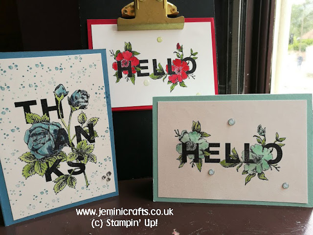 #coffeeandcard with Jemini Crafts featuring Floral Statements